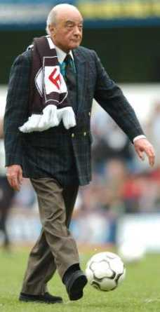 Fulham chairman Mohammed Al Fayed