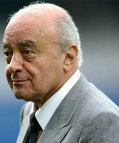 Fulham owner and Chairman Mohamed Al Fayed