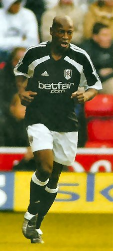 Fulham attacking midfielder Luis Boa Morte