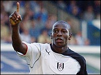 Fulham midfielder Boa Morte