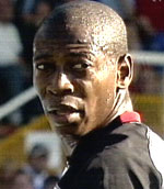 Fulham's Portuguese international midfielder Luis Boa Morte