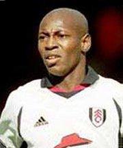 Fulham player Luis Boa Morte