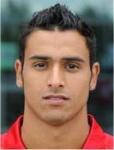 Striker Nacer Chadli