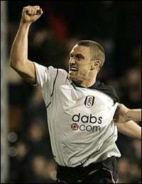Fulham captain Lee Clark