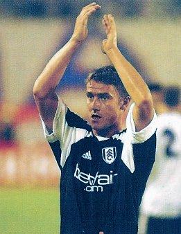 Fulham Fulham midfielder Lee Clark