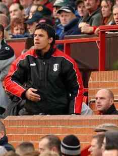 Fulham defender Moritz Volz