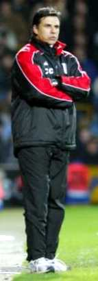 Fulham Manager Chris Coleman