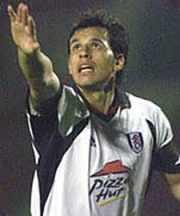 Fulham Captain Chris Coleman