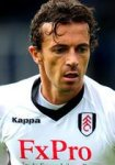 Fulham midfielder Simon Davies