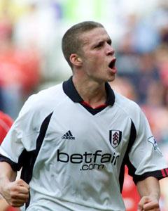 Fulham  midfielder Sean Davis