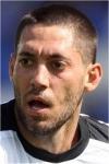 Fulham midfielder Clint Dempsey