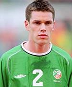 Fulham defender Steve Finnan