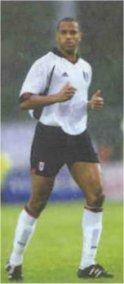 Fulham central defender Alain Goma