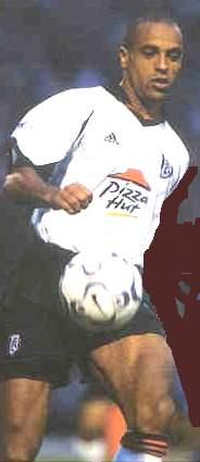Fulham defender Alain Goma