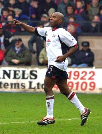 Fulham striker Barry Hayles
