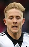 Fulham midfielder Lewis Holtby