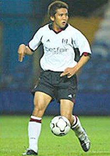 Fulham midfielder Junichi Inamoto