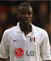 Fulham striker Eddie Johnson