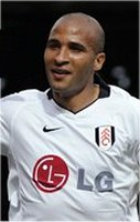 Fulham striker Diomansy Kamara