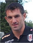 Former Fulham midfielder Giorgos Karagounis