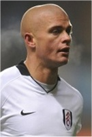 Fulham defender Paul Konchesky