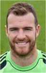 Fulham keeper Andy Lonergan