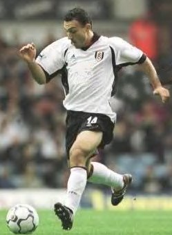 Fulham midfielder Steed Malbranque