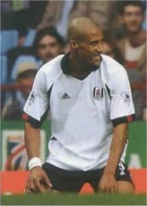 Fulham striker Chris Coleman