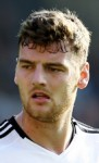Fulham striker Chris Martin