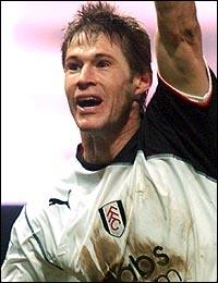 Fulham striker Brian McBride