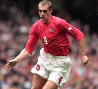 Fulham International defender Andy Melville