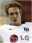Fulham midfielder Robert Milsom