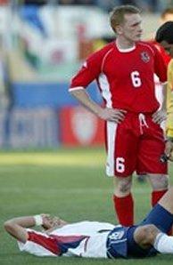 Fulham midfielder Mark Pembridge