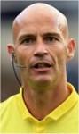 Referee Darren Drysdale