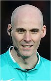 Referee Kevin Johnson (Somerset)