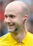 Referee Anthony Taylor  (Cheshire)