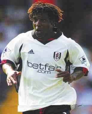 Fulham defender Rufus Brevett