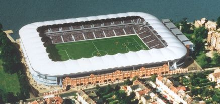 Fulham's new stadium