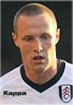Fulham defender Fredrik Stoor