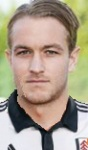 Fulham striker Adam Taggart