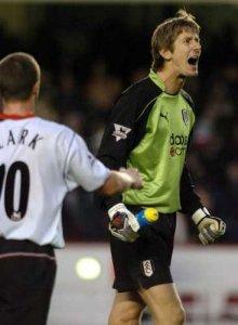 Fulham Edwin van der Sar