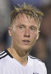 Fulham striker Cauley Woodrow